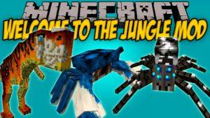 Мод на боссов - Welcome to the Jungle для minecraft 1.12.2 1.11.2 1.10.2 1.9.4 1.7.10