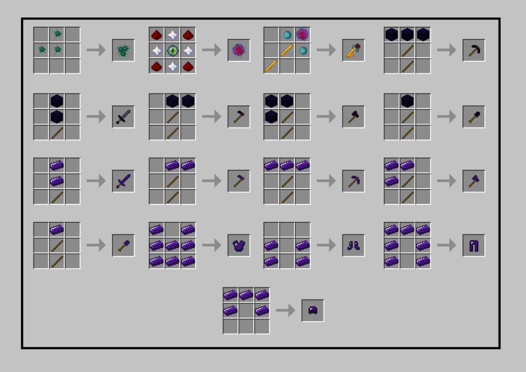 Мод AbyssalCraft для minecraft 1.12.2, 1.11.2, 1.7.10