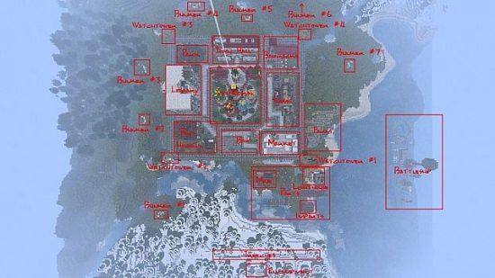 Карта Русского города для майнкрафт 1.12.2 1.7.10 1.5.2