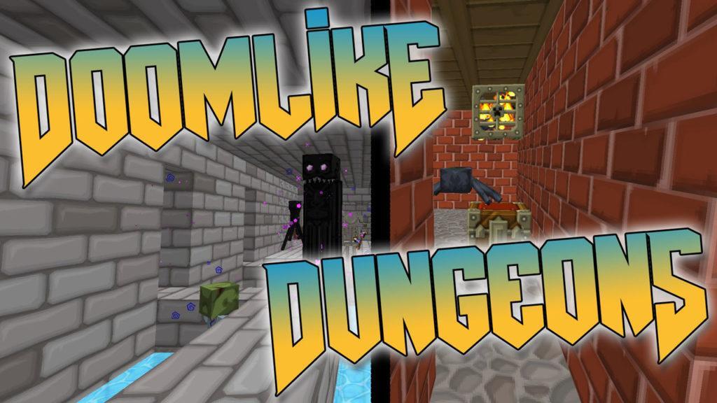 Мод на новые пещеры - Doomlike Dungeons для minecraft 1.12.2 - 1.5.2