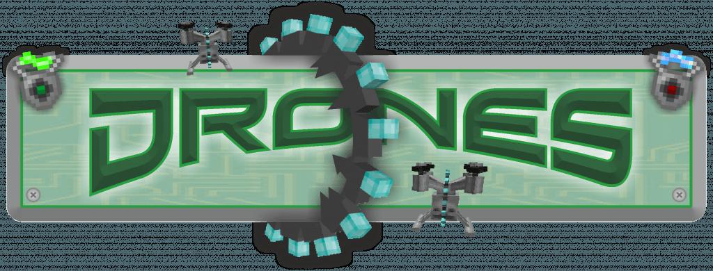 Мод на летающих дронов - Drones для minecraft 1.12.2 1.11.2 1.10.2