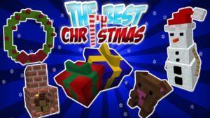 Мод The Best Christmas (новогодние украшения) 1.14.4, 1.12.2