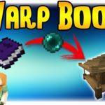 Мод на книгу телепортации - Warp Book для minecraft 1.12.2 1.8.9 1.7.10 1.6.4