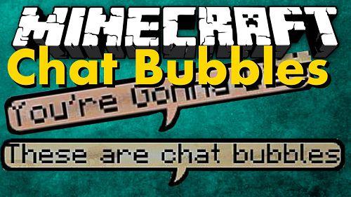 Мод Chat Bubbles 1.15.2, 1.14.1, 1.12.2, 1.7.10