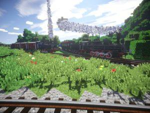 Мод на поезда - Rails of War для minecraft 1.12.2, 1.7.10