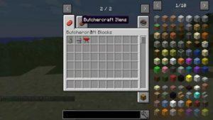 Мод ButcherCraft для minecraft 1.12.2 1.11.2
