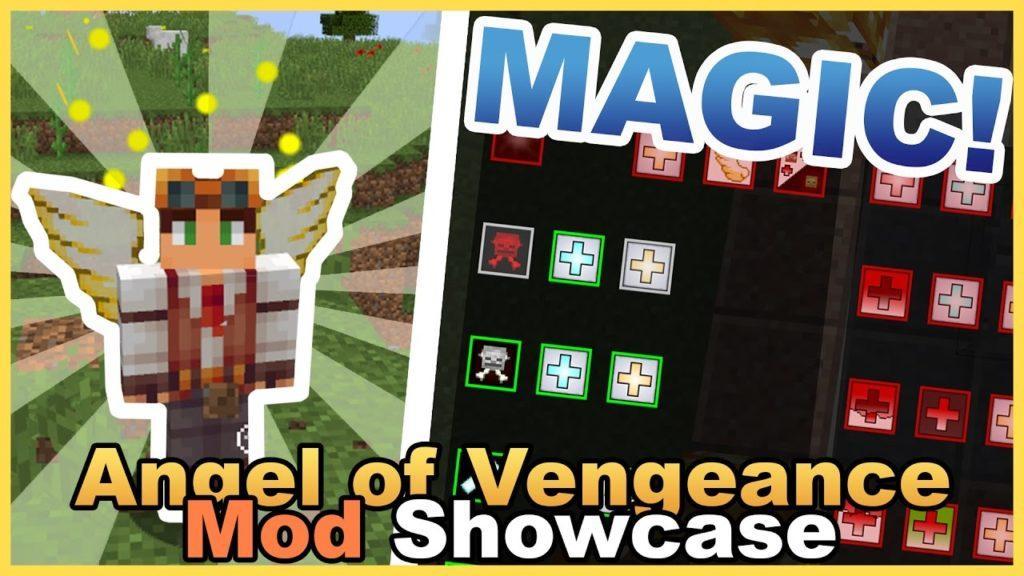Мод Angel of Vengeance для minecraft 1.12.2 1.11.2 1.10.2