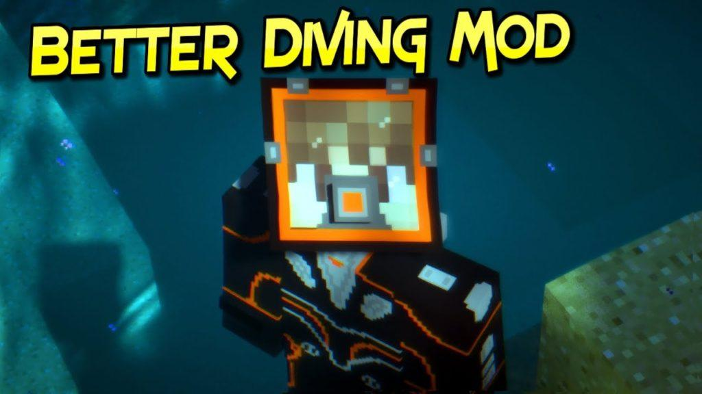 Мод Better Diving minecraft 1.12.2