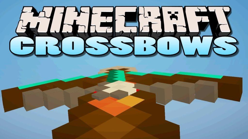 Мод на арбалеты - Crossbows для minecraft 1.11.2 1.10.2