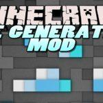 Мод Custom Ore Generation Revival для minecraft 1.12.2 1.10.2 1.7.10 1.6.4