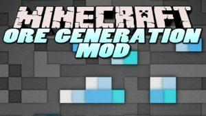 Мод Custom Ore Generation Revival для minecraft 1.12.2 1.10.2 1.7.10 1.6.4