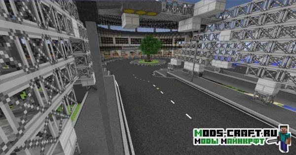 Мод на дороги - Flenix Roads для minecraft 1.7.10
