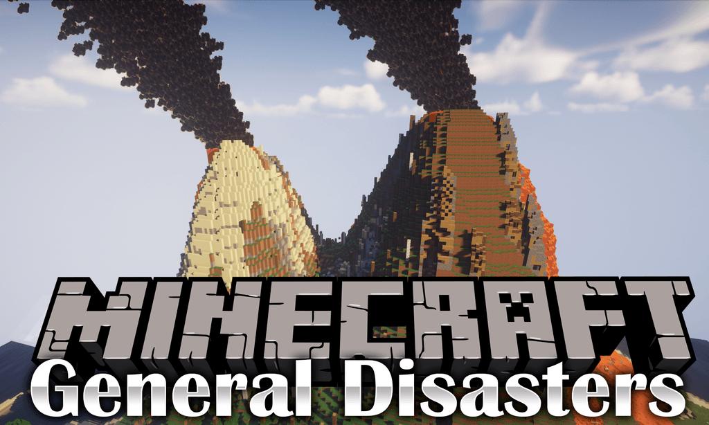 Мод General Disasters для minecraft 1.12.2