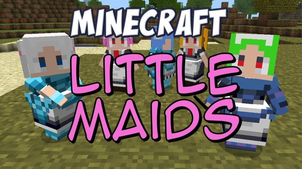 Мод LittleMaidMob для minecraft 1.12.2 1.8.9 1.7.10