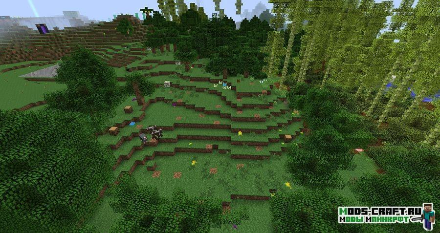 Мод Lumberjack для minecraft 1.12.2 1.11.2 1.10.2 1.9.4 1.7.10 4