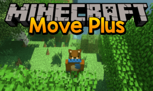 Мод на паркур - Move Plus для minecraft 1.12.2 1.7.10 1.6.4 1.5.2
