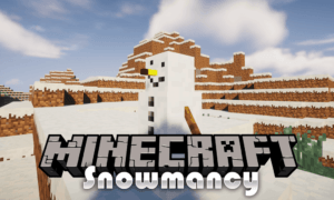 Мод на снеговик - Snowmancy для minecraft 1.16.4, 1.15.2, 1.14.4, 1.12.2