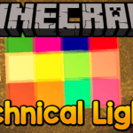 Мод на разноцветные лампы - Technical Lights для minecraft 1.12.2