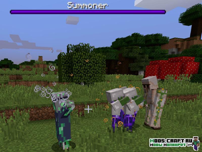 Мод The Summoner для minecraft 1.12.2
