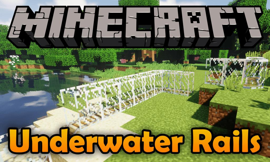 Мод на подводные рельсы - Underwater Rails для minecraft 1.12.2