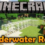 Мод на подводные рельсы — Underwater Rails для minecraft 1.12.2