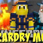 Мод на Заклинания — Wizardry для minecraft 1.12.2 1.11.2 1.10.2 1.7.10