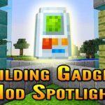Мод Building Gadgets для майнкрафт 1.15.2, 1.14.4, 1.12.2