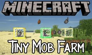Мод Tiny Mob Farm для майнкрафт [1.13.2] [1.12.2]