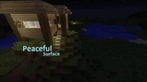 Мод Peaceful Surface для minecraft 1.13.2 1.12.2 1.11.2 1.10.2 1.8 1.7.10