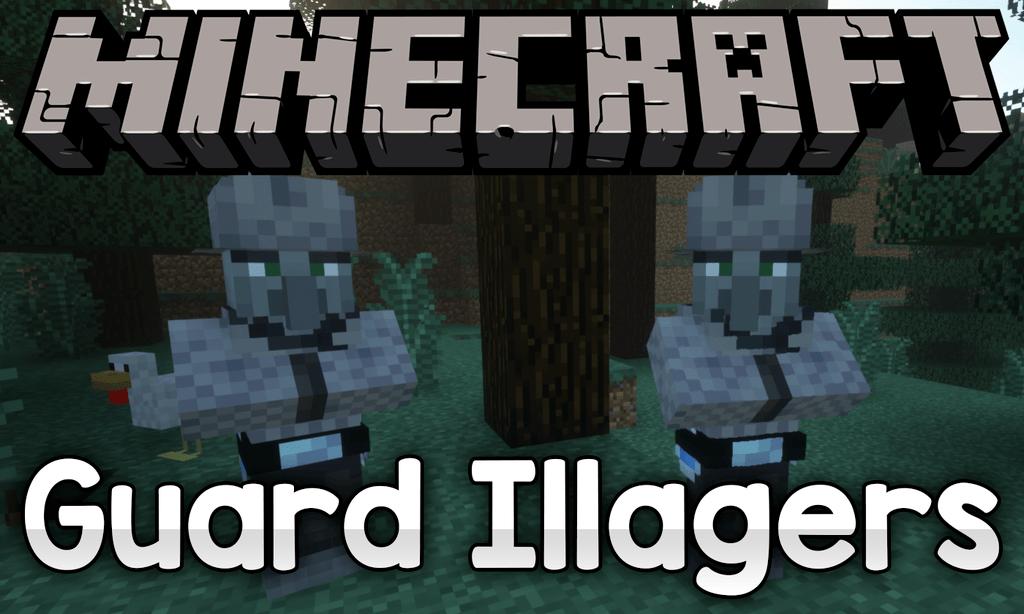 Мод Guard Illagers для майнкрафт 1.13.2 1.12.2