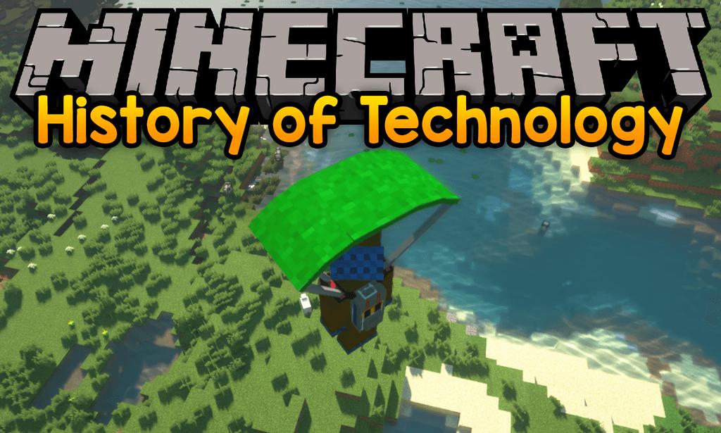 Мод на технологии - History of Technology для minecraft 1.12.2
