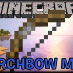 Стреляй факелами - мод Torch Bow для майнкрафт 1.13.2 1.12.2 1.7.10