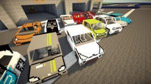 Мод на грузовые машины - Fex's Vehicle Pack для майнкрафт 1.12.2 1.8