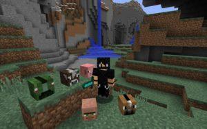 Выпадение головы с моба - мод Just Mob Heads для minecraft 1.13.2 1.12.2