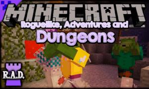 Мод Roguelike Adventures and Dungeons для майнкрафт 1.12.2