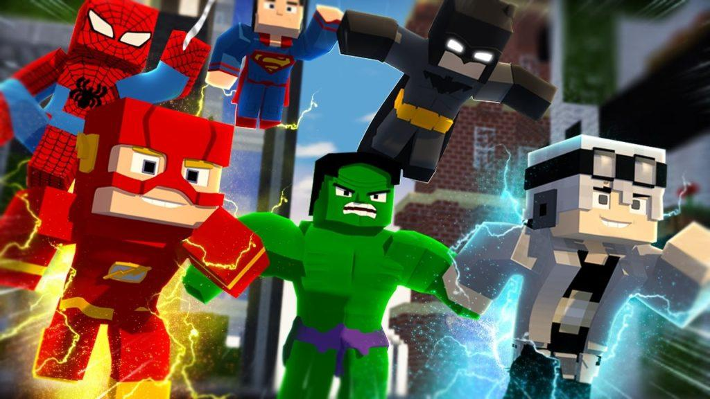 Лучший мод на супер героев для майнкрафт 1.7.10 1.6.4 1.5.2 1