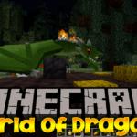 Мир драконов — мод World of Dragons для minecraft 1.12.2