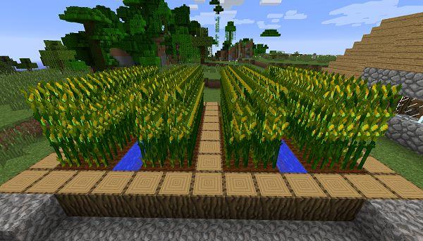Мод на Кукурузу - Simple Corn 1.16.5, 1.12.2