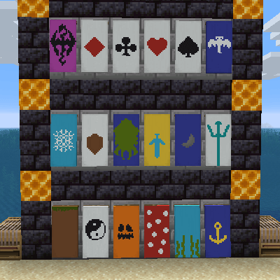 Мод Additional Banners для майнкрафт 1.16.3, 1.12.2