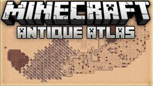 Мод Antique Atlas для майнкрафт 1.14.3, 1.12.2, 1.7.10