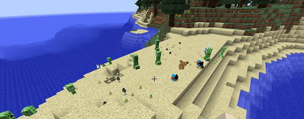 Мод на моба Ducky для minecraft 1.13.2 1.12.2 1.11.2 1