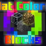 Мод Flat Colored Blocks для minecraft 1.12.2, 1.11.2, 1.10.2, 1.9.4, 1.8.9