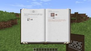 Мод Guide Book для minecraft 1.12.2 1.11.2 1.10.2 1.9.4 1.8.9