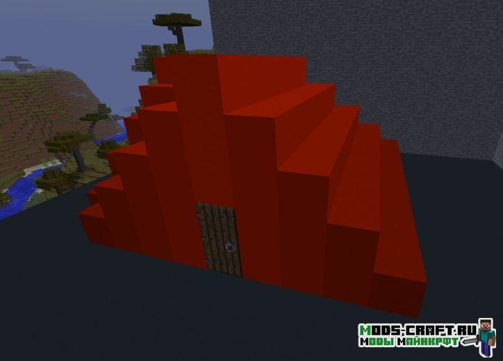 Мод Flat Colored Blocks для minecraft 1.12.2, 1.11.2, 1.10.2, 1.9.4, 1.8.9