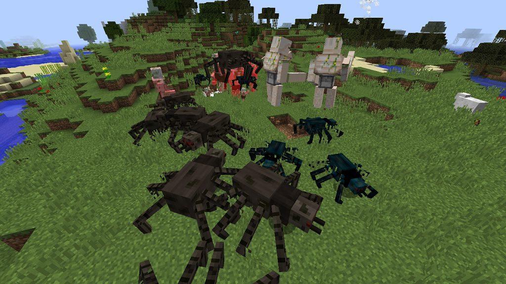 Мобы мутанты - мод Mutant Mobs для майнкрафт 1.12.2 5