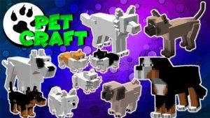Мод на домашних животных PetCraft для майнкрафт 1.12.2