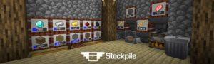 Мод Stockpile для minecraft 1.14.3