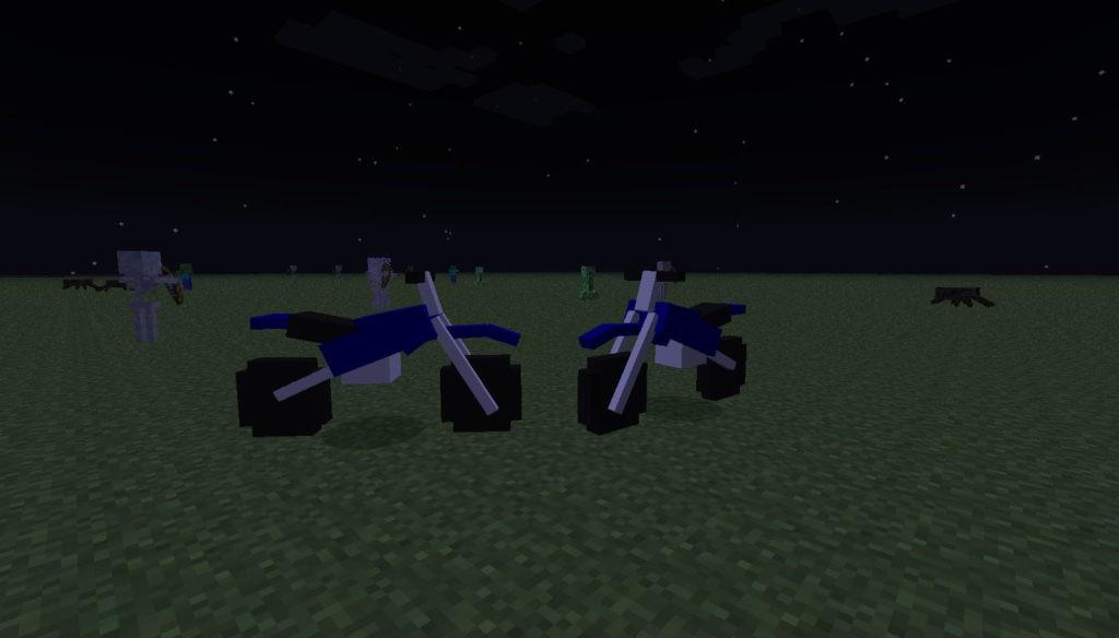 Мод на мотоциклы - The Dirtbike для майнкрафт 1.7.10 1.6.4 1