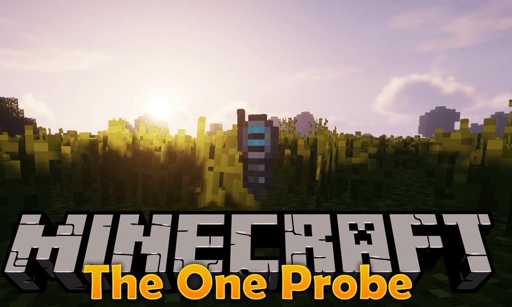 Мод The One Probe 1.16.4, 1.15.2, 1.14.4, 1.12.2 (информация о блоках)