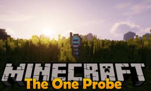 Мод на подсказки The One Probe для minecraft 1.14.4, 1.12.2, 1.9.4
